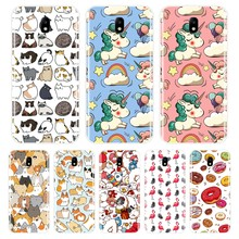 Phone Case For Samsung Galaxy J3 J4 J5 J6 J7 2016 2017 Soft Silicone Cute Unicorn Back Cover For Samsung J2 J5 J7 Prime Case(China)