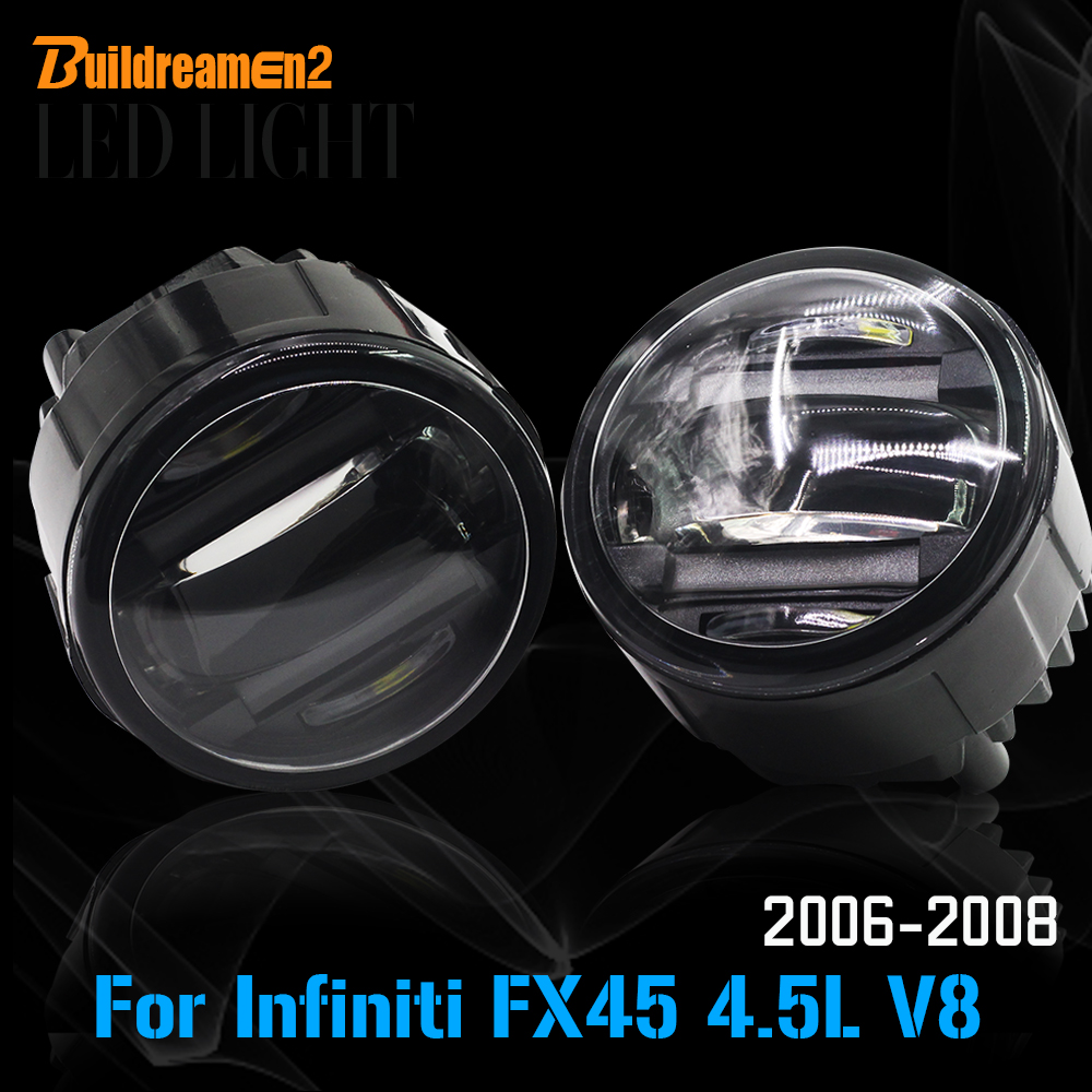 Popular nissan infiniti fx45 buy cheap nissan infiniti fx45 lots buildreamen2 2 x car led front fog light drl daytime running lamp high lumens styling for vanachro Gallery