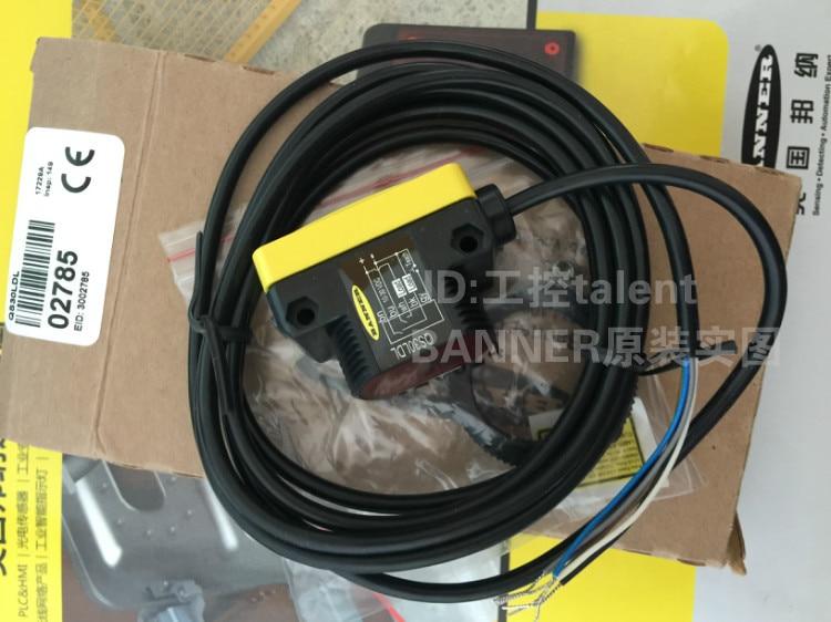 Livraison gratuite QS30LDL, QS30LDLQ capteur laser, le capteur laser longue distance