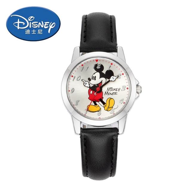 2018 Disney Kids Watch Children Watch classic Mickey Mouse Casual Fashion Cute Q