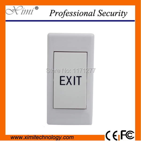 High quality exit switch for door access controller  door lock push door opener exit button plastic switch button exit