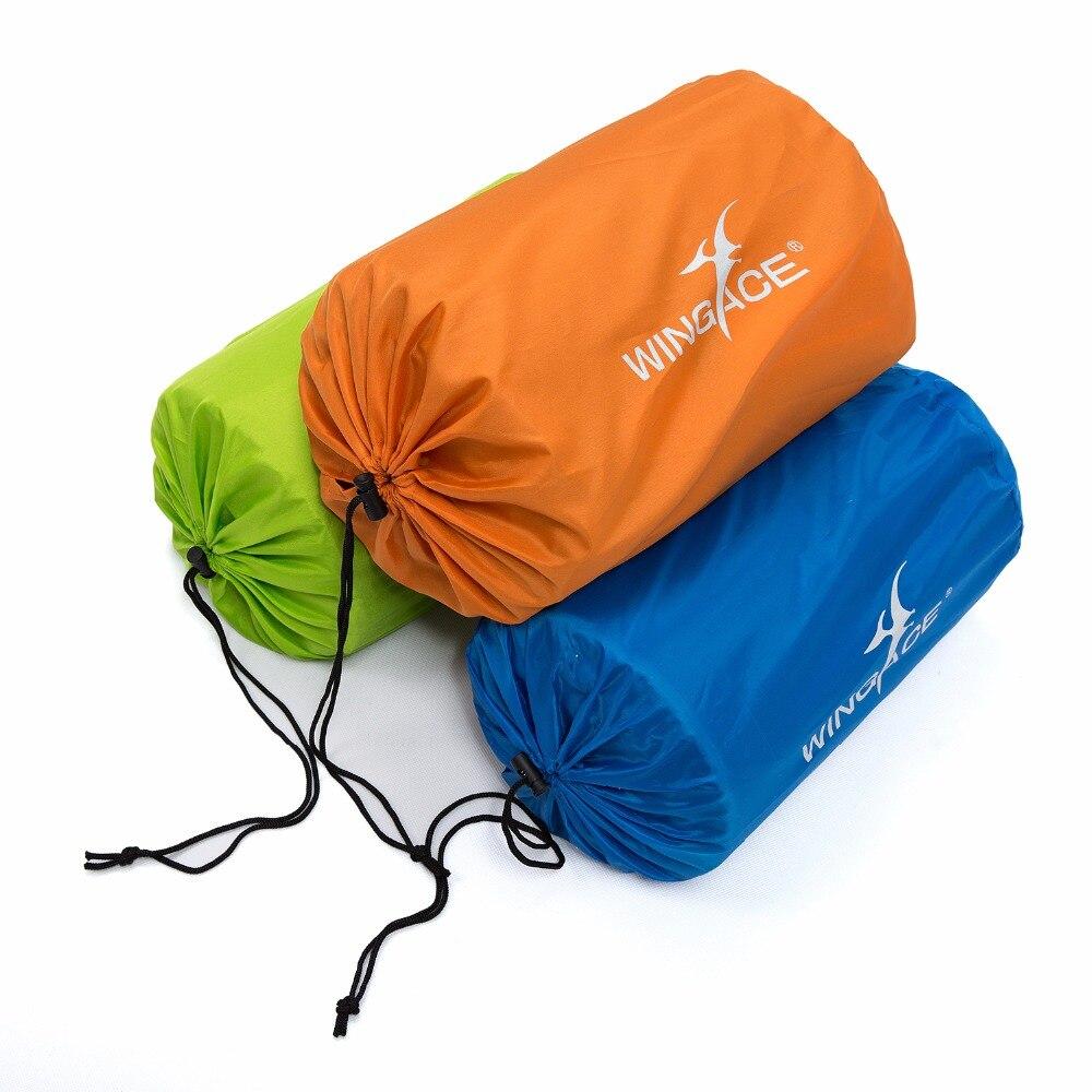 195 66 3CM Inflatable Mattress Pad With Pillow self inflating Sleeping Mat Air Mattress Tourist Camp Foam Outdoor Camping Mat in Camping Mat from Sports Entertainment