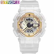 SYNOKE Men Sports digital Watches Waterproof Casual Men Quar
