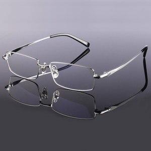 Image 1 - Hotony Mode Mannen Titanium Legering Brilmontuur Optische Brillen Recept Brillen Volledige Velg Frame Bril Vision Frame