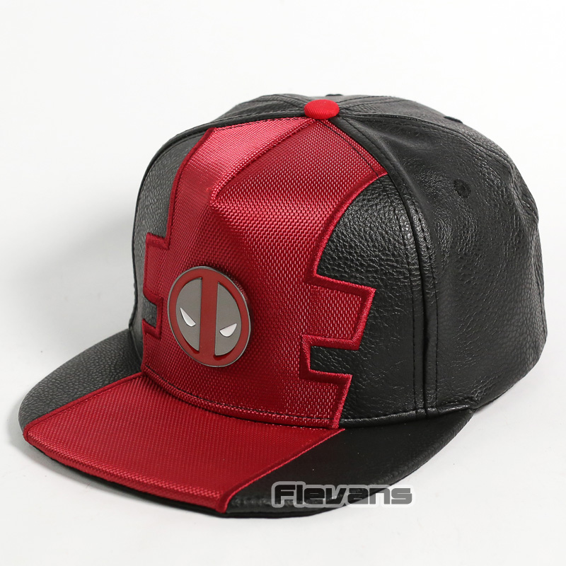 a5d57c203b5 Aliexpress.com   Buy Marvel Comics Deadpool Snapback Caps Cool Fashion Hip  Hop Hat Adult High Quality Leather Baseball Cap For Men from Reliable  Baseball ...