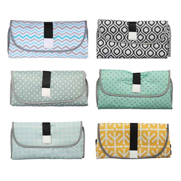 3 in 1 Baby Changing Pads Multifunctional Portable Infant Baby Foldable Urine Mat Waterproof Nappy Bag
