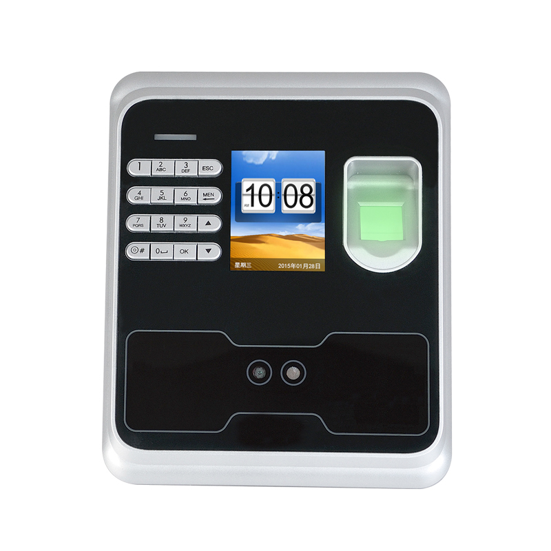 200 FACE USERS Password+Face+Fingerprint Time Clock Biometric Face Recognition Time Attendance Employee Time Clock