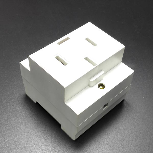 4 holes 3 phase 380V electrical Socket for din rail installation with 4 holes AC 440V 25A 3 Phases ac 440v 60a three 3 phase four 4 wire 3p 4w ceramic industrial socket plug set page 2