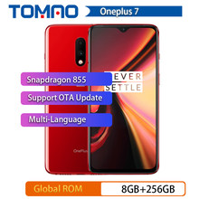 Rom globale OnePlus 7 8GB RAM 256GB ROM Smartphone Snapdragon 855 6.41 pouces optique AMOLED affichage d'empreintes digitales 48MP caméras UFS 3.0(China)