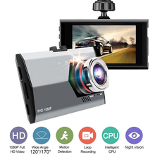 TOSPRA 120/170 Degree Wide Angle Car Dvr Camera Full HD 1080P Video Recorder Auto Registrator Dvrs Dash Cam Night Vision