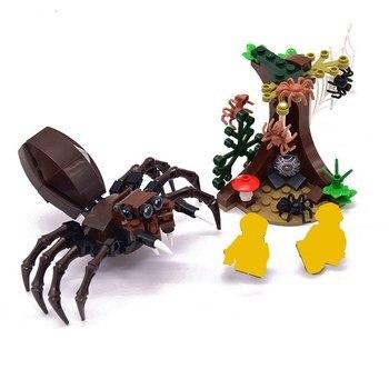 Hagrid Capanna Harri Potter Castello Casa Mini Animali Figure Blocchi di Costruzione Mattoni Giocattoli per i bambini regali Di Natale