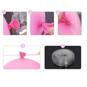 Image 3 - Tira de decoración de globos DIY, cadena de conexión para celebración, cumpleaños, boda, decoración de Baby Shower, suministros para eventos y fiestas, 1 Uds.