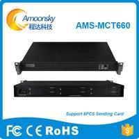 AMS MCT660 Six Sender Card Box Supprt Install 6 Sending Card Like Card Linsn Ts802d Nova