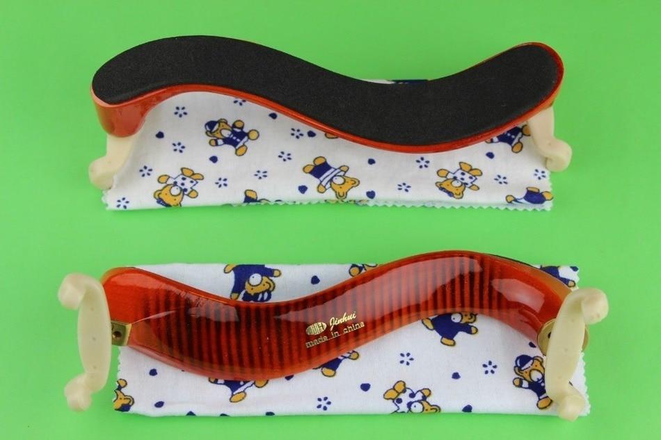 4pcs high quality adjustable violin shoulder rest 3 4 4 4 very nice Violin parts