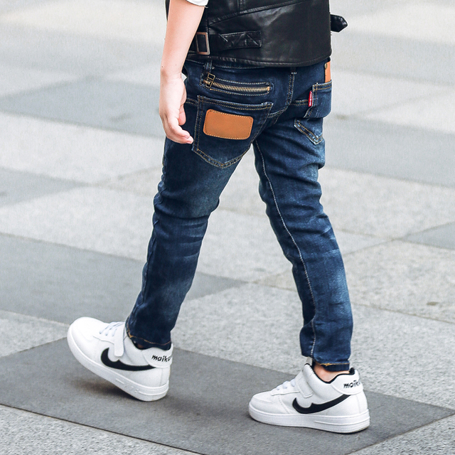 Denim Pants for Boys with Skinny Fit