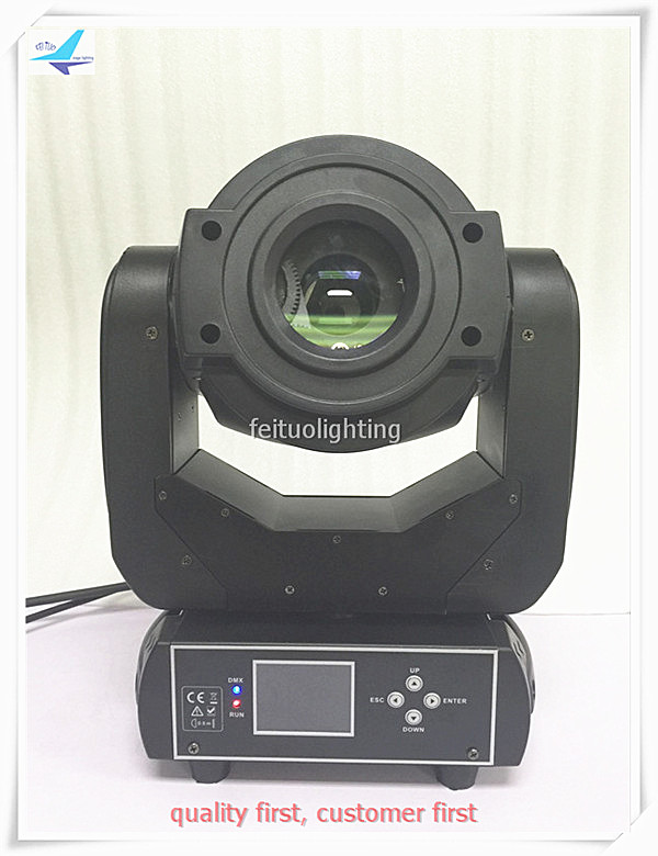 free shipping 90W Lyre LED Spot Moving Head Light Stage Equipment 3 Prism Gobos Lights DMX Wash Lamp for Disco DJ Bar Show Party