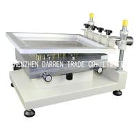 Free DHL 1PC High Precision Manual PCB Silk Screen Press Precise Solder Paste Printing Machine