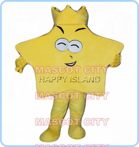 mascot yellow star mascot costume adult size cartoon star theme advertising festival costumes carnival fancy dress 2610