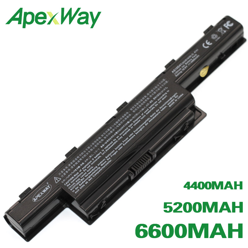 ApexWay Battery For Acer TravelMate 4370 4740 4750 5335 5340 5344 5360 5542 5735 5740 5742 5744 5760 6495 6595 7340 7740 7750
