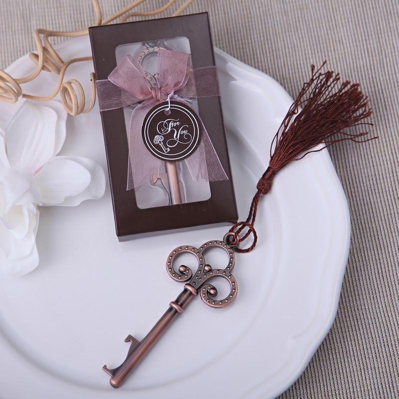 50pcs Free Shipping Personalized Wedding Souvenir Skeleton Key