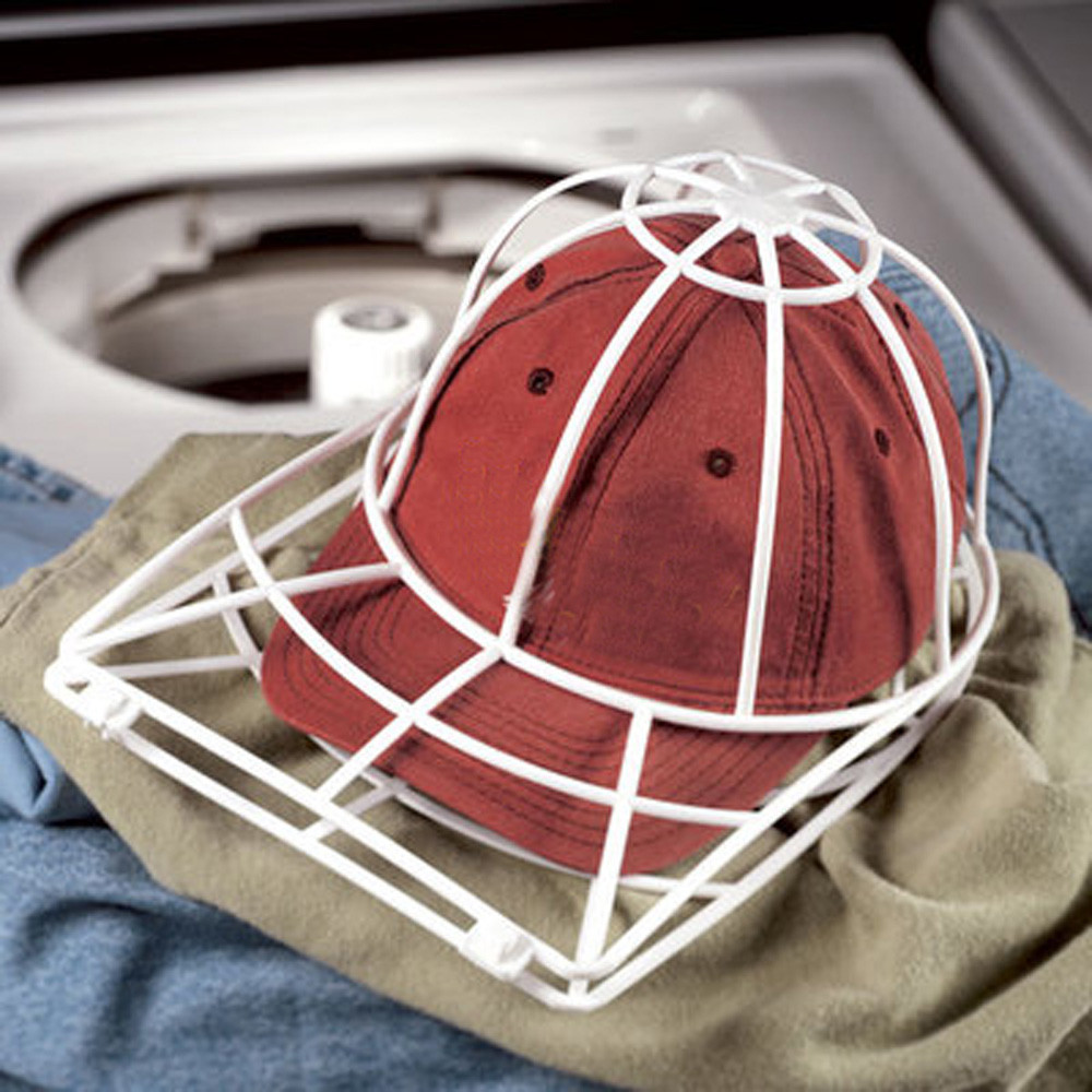 a5704b23553 Cap Washer Baseball Hat Cleaner Cleaning Protector Ball Cap Washing Frame  Cage Laundry bag for washing Cap Laundry supplies-in Laundry Bags   Baskets  from ...