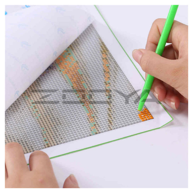 ZOOYA 5D Home Decor Diamond Embroidery DIY Diamond Painting By Numbers Wall Sticker Many Kinds Of Flowers Cottage Hammock RF898