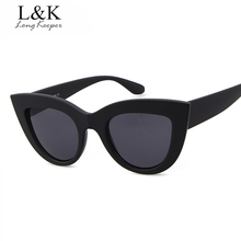 Long Keeper 2017 Luxury Women's Cat Eye Sunglasses Gradient Color Designer Glasses Vintage Female Retro Eyewears UV400 TY7ME022