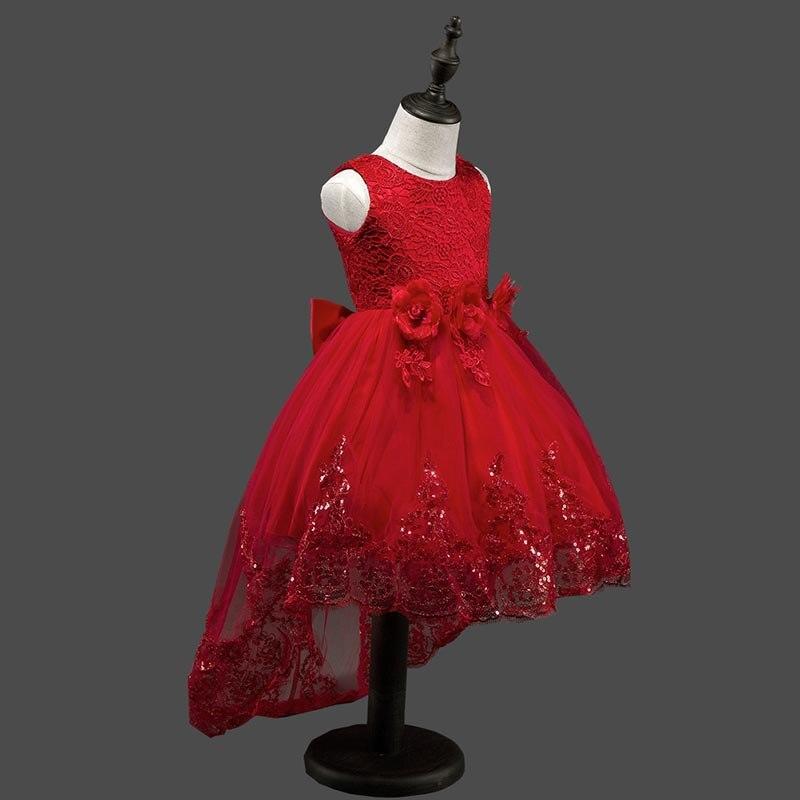 Nuevos Cabritos Del Diseño de Vestidos de Novia Elegante Cordón de ...