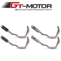 GT Motor Motorcycle Exhaust Full system pipe FOR Honda CBR650F CBR650 2014 2018 with exhaust CB650F