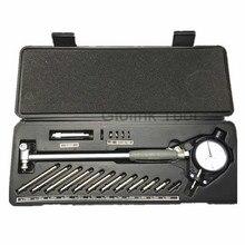 Medidor de furo de indicador, 50 160mm, 35 50mm, 0.01mm, indicadores de diâmetro, precisão do cilindro do motor, medição kit de teste medidor de ferramentas