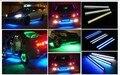 Ultrabright 14 см Дневного света 100% Водонепроницаемый COB СВЕТОДИОДНЫЙ Источник Света Автомобиля DRL Вождение противотуманные фары лампа стояночного света