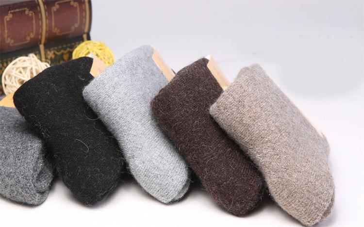 718f7543ef230 Russia Winter Thick Mens Socks Rabbit Wool Socks Thermal Thickening Man Sock  Free Shipping-in Men's Socks from Underwear & Sleepwears on Aliexpress.com  ...