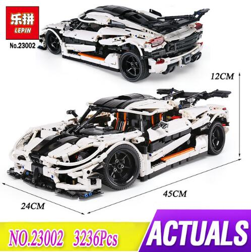 IN STOCK Lepin 23002 Technic SeriesThe MOC-4789 Changing Racing Car Set Children Educational Building Blocks Bricks Toys Model