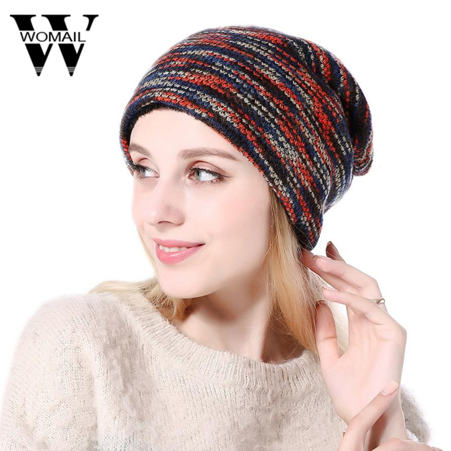 Women's Hat Skullies Beanies Knitted Hats Fashion Unisex Beanie Hat Winter Casual Men Beanies Hats skullies