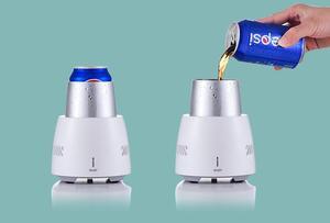 Image 2 - XIAOMI mijia מהיר קירור כוס קטן מיידי קירור וקירור כוס בית משרד משקה קר מכונה מכשיר קטן קומקום
