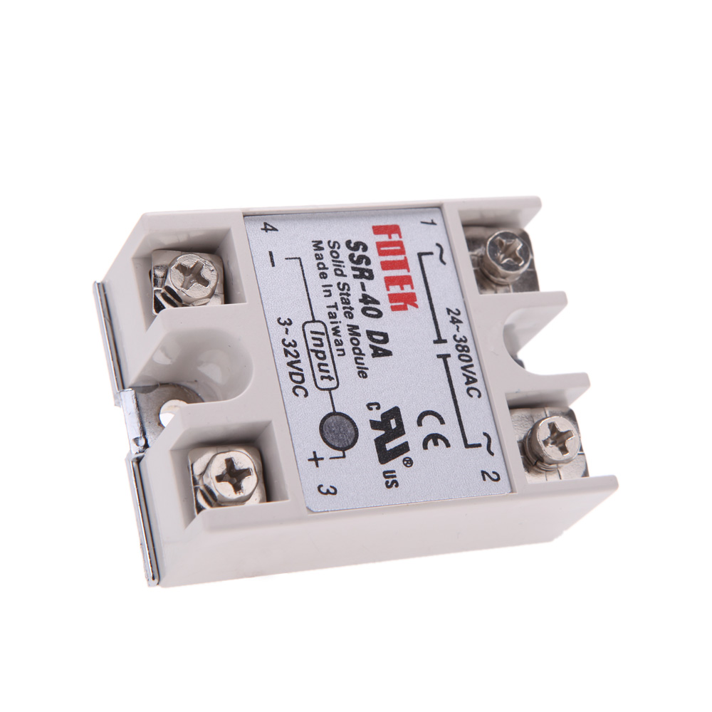 24v 380v 40a Ssr 40 Da Solid State Ammeter Relay Module For Pid The Professional Temperature Controller 3 32v Dc To Ac In Current Meters From Tools On