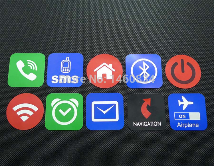 13.56Mhz NFC Sticker Ntag203/Ntag213 144bytes NFC Tag Compatible With Any Smart Phone With NFC Function