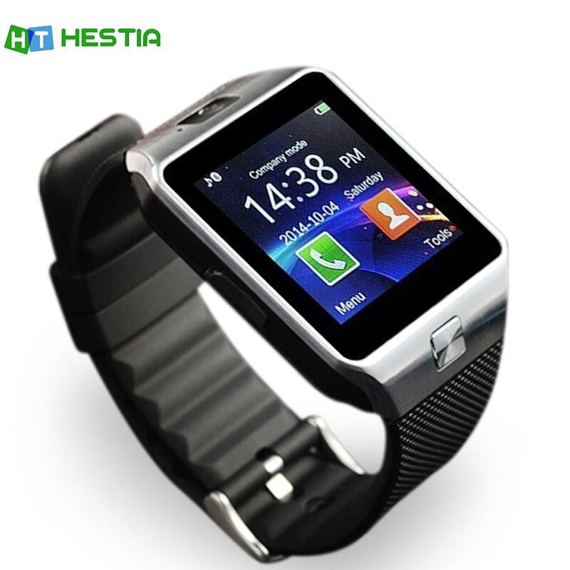 HESTIA DZ09 Bluetooth Astuto Della Vigilanza del Android Multi lingue Telefono Smartwatch Call SIM TF Della Macchina Fotografica per Samsung HUAWEI VS Y1 Q18 GT08