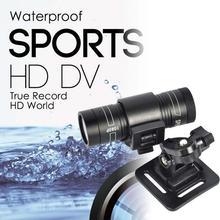 Full HD 1080P DV Mini Waterproof Sport Camera Bike Action Camcorder DVR Video Mini Camcorder Motorcycle Helmet Outdoor