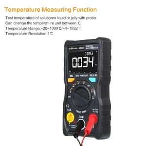 Image 5 - RM404B يده الرقمية المتعدد متعددة الوظائف مصغرة متعددة esr متر التيار المتناوب/تيار مستمر الجهد الترانزستور تستر مقياس التيار الكهربائي استشعار درجة الحرارة