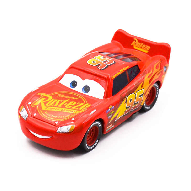Disney Pixar Cars 3 2018 Новый Молния Маккуин Джексон шторм Круз Рамирез литья под давлением Металл Модель автомобиля подарок на день рождения игрушка