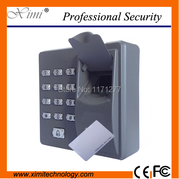 RFID reader finger scanner code system biometric recognition fingerprint access control system X6 fs28 biometric fingerprint access control machine electric reader scanner sensor code system for door lock