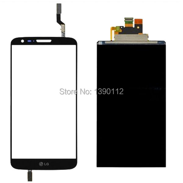 OEM For LG G2 D800 D801 D803 LCD Dispaly Screen + Touch Digitizer Glass Panel Lens