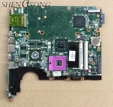 100 Working Laptop Motherboard for HP DV6 DV6 1000 518431 001 DAUT3DMB8D0 Series Mainboard System Board