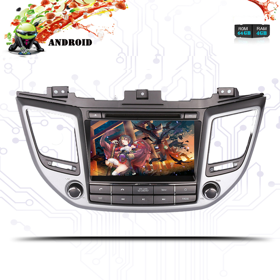 Cheap 4G+64G Octa core android 9.0 car dvd for Hyundai Tucson/IX35 2016 2017 2018 multimedia car radio gps navigation Tape Recorder 1