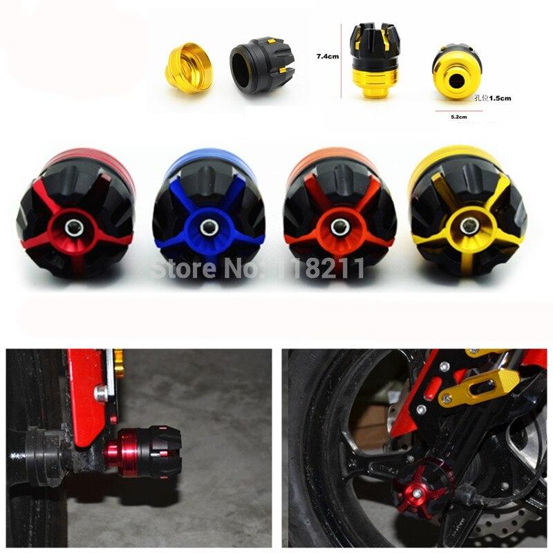RPMMOTOR Universal Crash Protector Motorcycle Falling Protection dirt pit bike Frame Sliders Crash pad Protector for yamaha