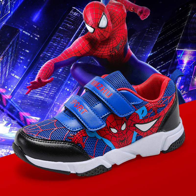 Children Shoes Boys Mesh Sports Sneakers Shoes 2019 Spring Autumn Kids Training Shoes Toddler Baby Pu Leather Girl Casual Shoes