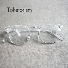 Personalized designer fashion transparent frame glasses for man and woman  5108