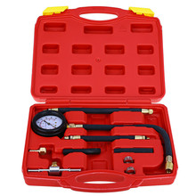 Tragbare Auto Einspritzpumpe Drucktester Kit Auto Benzin Gas Motor Zylinder Compression Manometer Auto Diagnostic Tools