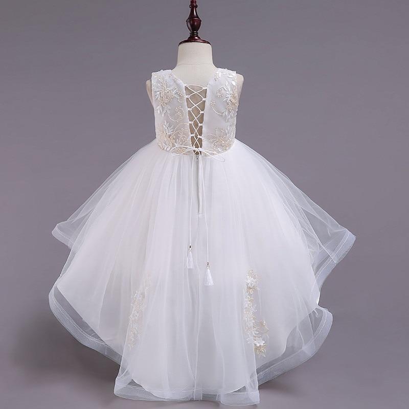 Robe de mariée élégante pour filles robe de princesse pour enfants de 3-12 ans